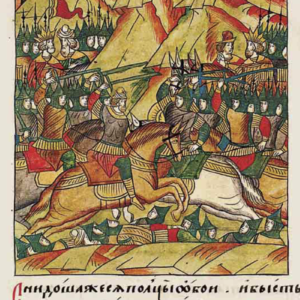 ruska gravira , boj na kosovu